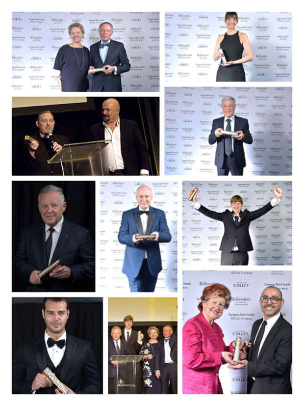 Lauréats : European Hotel Awards 2020
